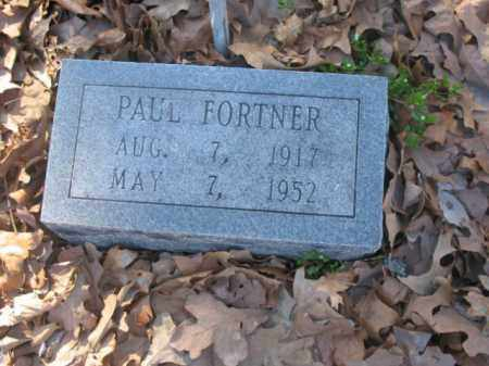 FORTNER, PAUL - Arkansas County, Arkansas | PAUL FORTNER - Arkansas Gravestone Photos