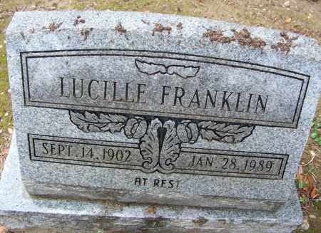 FRANKLIN, LUCILLE - Arkansas County, Arkansas | LUCILLE FRANKLIN - Arkansas Gravestone Photos