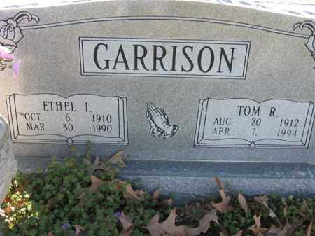 GARRISON, ETHEL I - Arkansas County, Arkansas | ETHEL I GARRISON - Arkansas Gravestone Photos