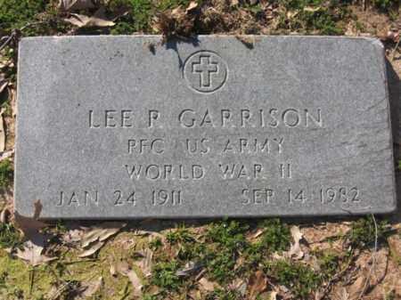 GARRISON (VETERAN WWII), LEE R - Arkansas County, Arkansas | LEE R GARRISON (VETERAN WWII) - Arkansas Gravestone Photos