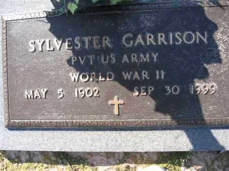 GARRISON (VETERAN WWII), SYLVESTER - Arkansas County, Arkansas | SYLVESTER GARRISON (VETERAN WWII) - Arkansas Gravestone Photos