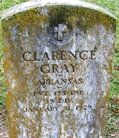 GRAY (VETERAN), CLARENCE - Arkansas County, Arkansas | CLARENCE GRAY (VETERAN) - Arkansas Gravestone Photos