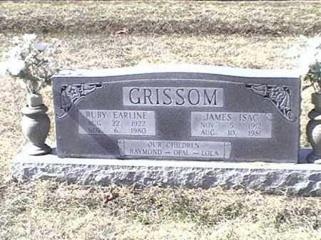 GRISSOM, RUBY EARLINE - Arkansas County, Arkansas | RUBY EARLINE GRISSOM - Arkansas Gravestone Photos