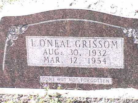GRISSOM, L - Arkansas County, Arkansas | L GRISSOM - Arkansas Gravestone Photos
