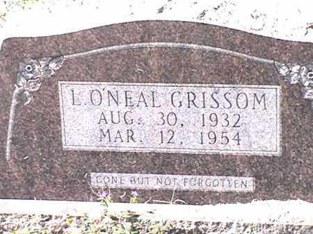O'NEAL GRISSOM, L - Arkansas County, Arkansas | L O'NEAL GRISSOM - Arkansas Gravestone Photos