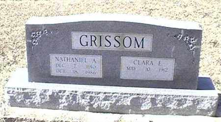 GRISSOM, NATHANIEL A - Arkansas County, Arkansas | NATHANIEL A GRISSOM - Arkansas Gravestone Photos