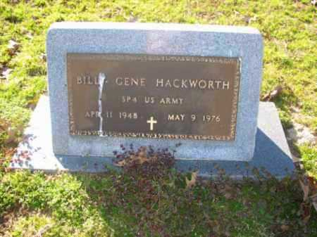 HACKWORTH (VETERAN), BILLY GENE - Arkansas County, Arkansas | BILLY GENE HACKWORTH (VETERAN) - Arkansas Gravestone Photos