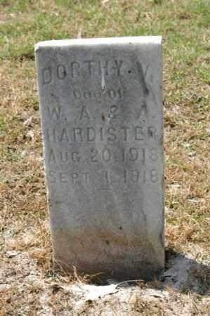 HARDISTER, DORTHY - Arkansas County, Arkansas | DORTHY HARDISTER - Arkansas Gravestone Photos