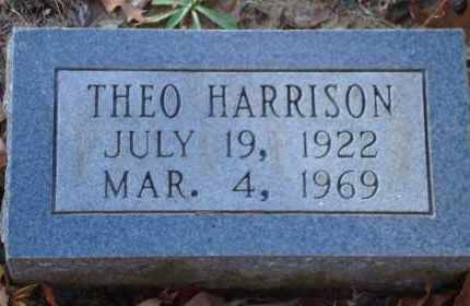 HARRISON, THEO - Arkansas County, Arkansas | THEO HARRISON - Arkansas Gravestone Photos