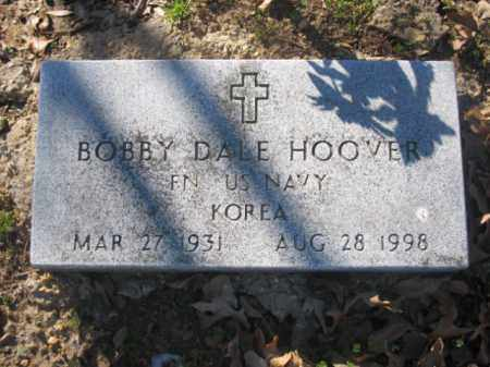 HOOVER (VETERAN KOR), BOBBY DALE - Arkansas County, Arkansas | BOBBY DALE HOOVER (VETERAN KOR) - Arkansas Gravestone Photos