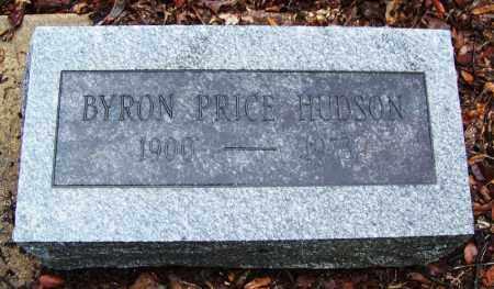 HUDSON, BYRON PRICE - Arkansas County, Arkansas | BYRON PRICE HUDSON - Arkansas Gravestone Photos