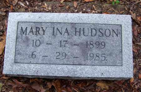 HUDSON, MARY INA - Arkansas County, Arkansas   MARY INA HUDSON - Arkansas Gravestone Photos