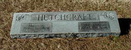 VAWTER HUTCHCRAFT, RUBY - Arkansas County, Arkansas | RUBY VAWTER HUTCHCRAFT - Arkansas Gravestone Photos