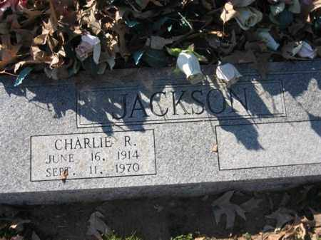 JACKSON, CHARLIE R - Arkansas County, Arkansas | CHARLIE R JACKSON - Arkansas Gravestone Photos