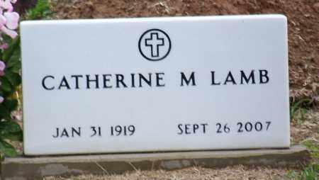 LAMB, CATHERINE M - Arkansas County, Arkansas | CATHERINE M LAMB - Arkansas Gravestone Photos
