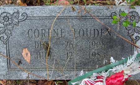 LOUDEN, CORENE - Arkansas County, Arkansas | CORENE LOUDEN - Arkansas Gravestone Photos