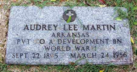 MARTIN (VETERAN WWI), AUDREY LEE - Arkansas County, Arkansas | AUDREY LEE MARTIN (VETERAN WWI) - Arkansas Gravestone Photos