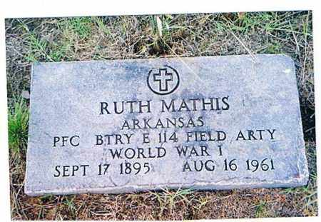 MATHIS (VETERAN WWI), RUTH - Arkansas County, Arkansas | RUTH MATHIS (VETERAN WWI) - Arkansas Gravestone Photos