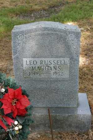 MAUGANS, LEO RUSSELL - Arkansas County, Arkansas | LEO RUSSELL MAUGANS - Arkansas Gravestone Photos