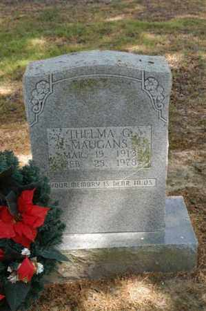 MAUGANS, THELMA G - Arkansas County, Arkansas | THELMA G MAUGANS - Arkansas Gravestone Photos