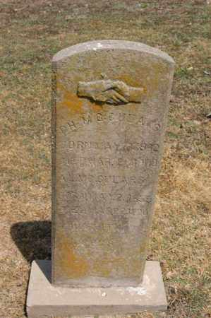 MCCULARS, D H - Arkansas County, Arkansas | D H MCCULARS - Arkansas Gravestone Photos