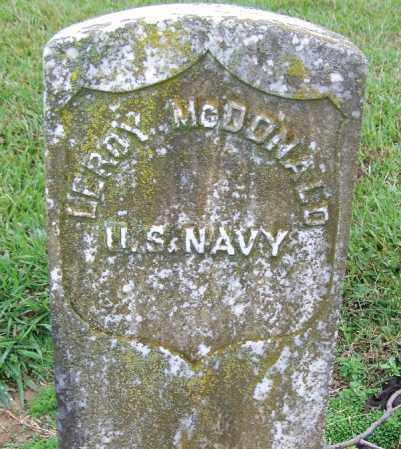 MCDONALD (VETERAN UNION), LEROY - Arkansas County, Arkansas | LEROY MCDONALD (VETERAN UNION) - Arkansas Gravestone Photos