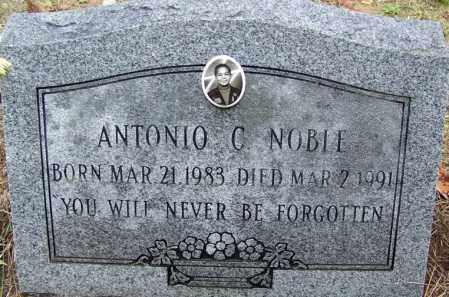 NOBLE, ANTONIO C - Arkansas County, Arkansas | ANTONIO C NOBLE - Arkansas Gravestone Photos