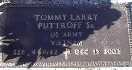 PUTTROFF,  SR  (VETERAN VIET), TOMMY LARRY - Arkansas County, Arkansas | TOMMY LARRY PUTTROFF,  SR  (VETERAN VIET) - Arkansas Gravestone Photos