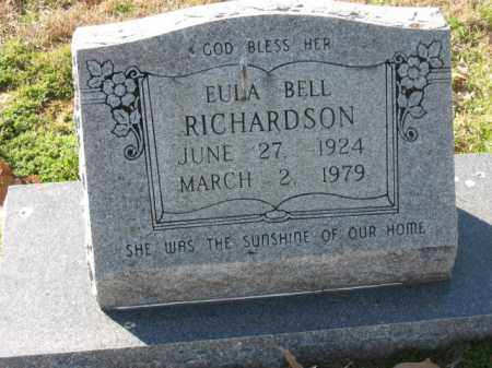RICHARDSON, EULA - Arkansas County, Arkansas | EULA RICHARDSON - Arkansas Gravestone Photos