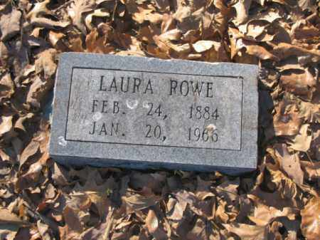 ROWE, LAURA - Arkansas County, Arkansas | LAURA ROWE - Arkansas Gravestone Photos