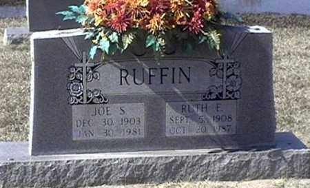 RUFFIN, RUTH E - Arkansas County, Arkansas | RUTH E RUFFIN - Arkansas Gravestone Photos