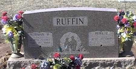 "RUFFIN, NORMAN H ""PETE"" - Arkansas County, Arkansas | NORMAN H ""PETE"" RUFFIN - Arkansas Gravestone Photos"