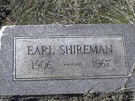 SHIREMAN, EARL - Arkansas County, Arkansas | EARL SHIREMAN - Arkansas Gravestone Photos