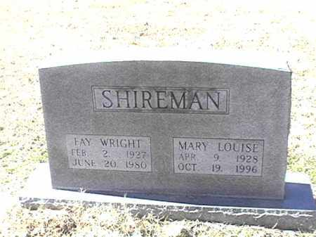 SHIREMAN, FAY WRIGHT - Arkansas County, Arkansas | FAY WRIGHT SHIREMAN - Arkansas Gravestone Photos
