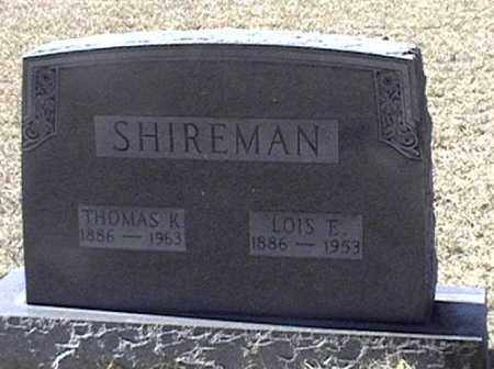 SHIREMAN, LOIS E - Arkansas County, Arkansas | LOIS E SHIREMAN - Arkansas Gravestone Photos