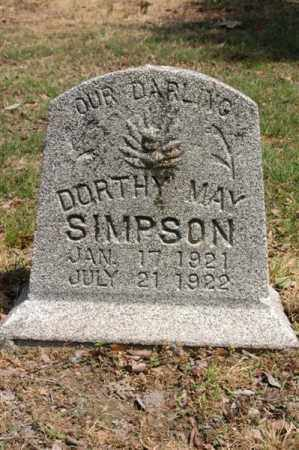 SIMPSON, DORTHY MAY - Arkansas County, Arkansas | DORTHY MAY SIMPSON - Arkansas Gravestone Photos