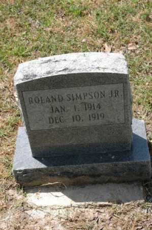SIMPSON, ROLAND - Arkansas County, Arkansas | ROLAND SIMPSON - Arkansas Gravestone Photos