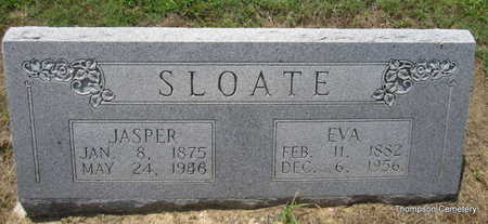 SLOATE, JASPER - Arkansas County, Arkansas | JASPER SLOATE - Arkansas Gravestone Photos