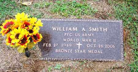 SMITH (VETERAN WWII), WILLIAM A - Arkansas County, Arkansas | WILLIAM A SMITH (VETERAN WWII) - Arkansas Gravestone Photos