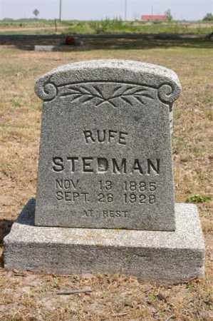 STEDMAN, RUFE - Arkansas County, Arkansas | RUFE STEDMAN - Arkansas Gravestone Photos