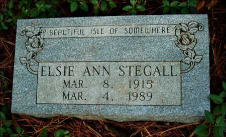 STEGALL, ELSIE ANN - Arkansas County, Arkansas | ELSIE ANN STEGALL - Arkansas Gravestone Photos