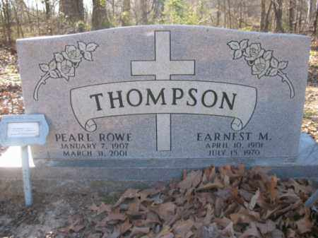THOMPSON, EARNEST M - Arkansas County, Arkansas | EARNEST M THOMPSON - Arkansas Gravestone Photos