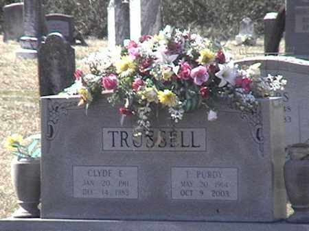 TRUSSELL, CLYDE E. - Arkansas County, Arkansas | CLYDE E. TRUSSELL - Arkansas Gravestone Photos