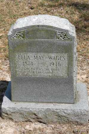 WAGES, ELLA MAY - Arkansas County, Arkansas | ELLA MAY WAGES - Arkansas Gravestone Photos