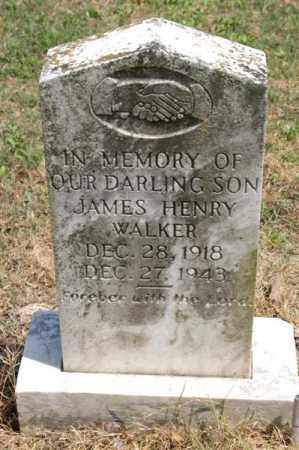 WALKER, JAMES HENRY - Arkansas County, Arkansas | JAMES HENRY WALKER - Arkansas Gravestone Photos