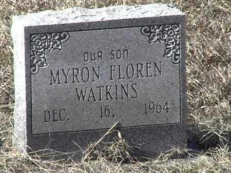 WATKINS, MYRON FLOREN - Arkansas County, Arkansas | MYRON FLOREN WATKINS - Arkansas Gravestone Photos