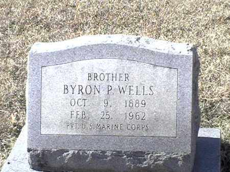 WELLS (VETERAN), BYRON P - Arkansas County, Arkansas | BYRON P WELLS (VETERAN) - Arkansas Gravestone Photos