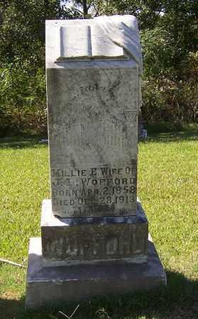 WOFFORD, MILLIE E - Arkansas County, Arkansas   MILLIE E WOFFORD - Arkansas Gravestone Photos