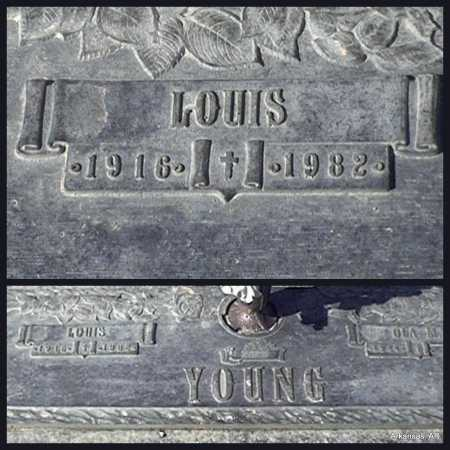YOUNG  2, LOUIS - Arkansas County, Arkansas | LOUIS YOUNG  2 - Arkansas Gravestone Photos