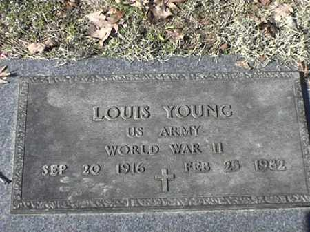YOUNG  (VETERAN WWII), LOUIS - Arkansas County, Arkansas | LOUIS YOUNG  (VETERAN WWII) - Arkansas Gravestone Photos